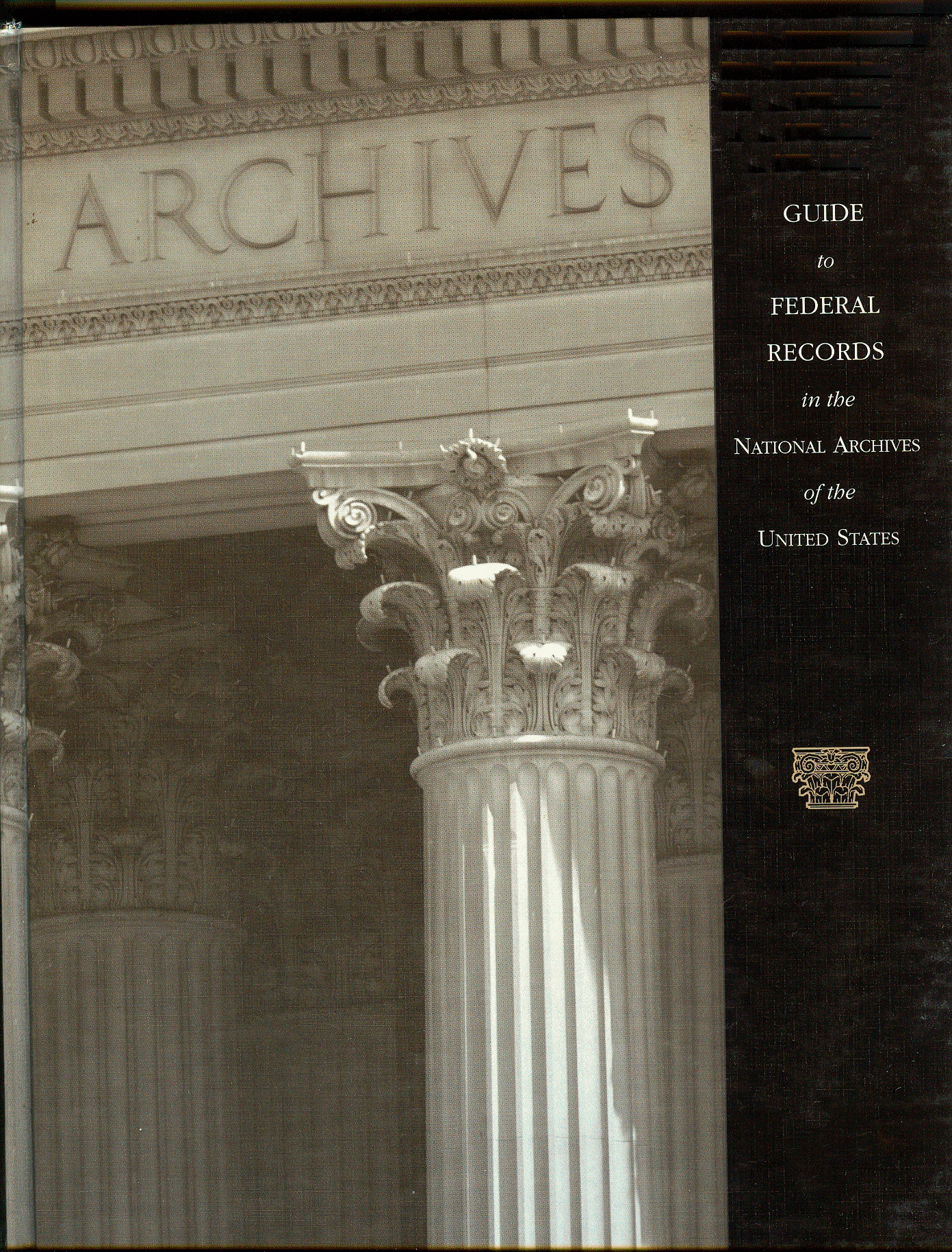 Cover image - Guide to National Archives of the U.S.